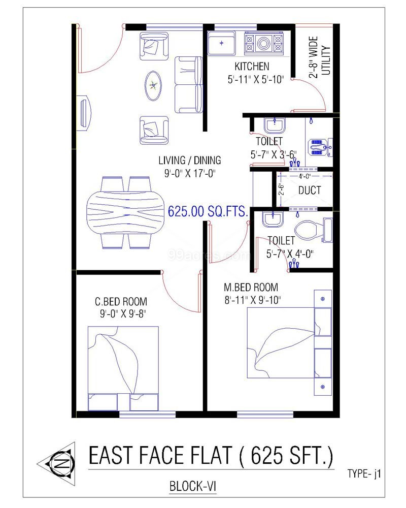 House Plans In 700 Sq Ft